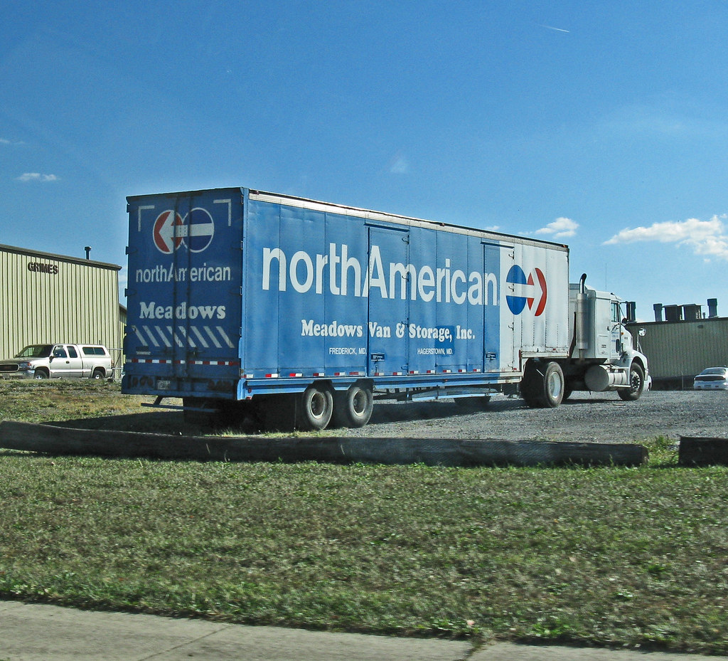 NORTH AMERICAN VAN LINES - Meadow's Moving - Fred, MD | Flickr