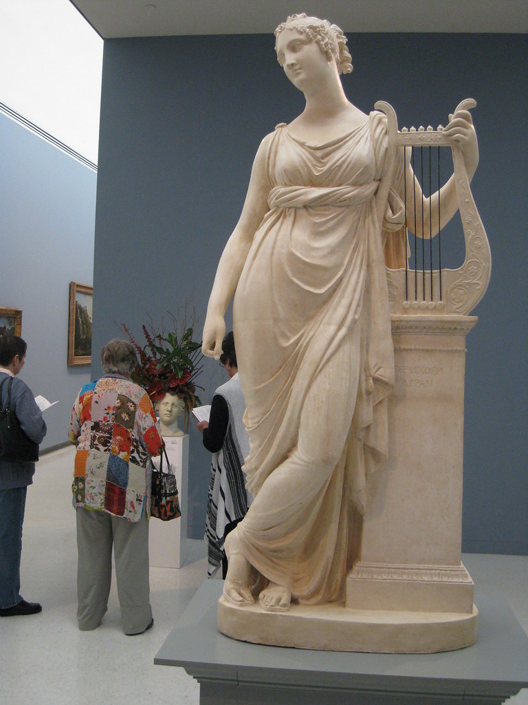 Antonio Canova Quot Terpsichore Muse Of Lyric Poetry Quot 1812
