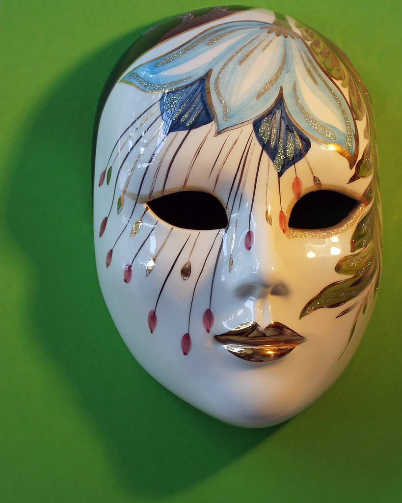 Decorative Mask Mysterious Colorful And Intriguing
