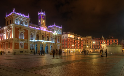 Plaza Mayor Valladolid Spain Hdr Hdr From Five