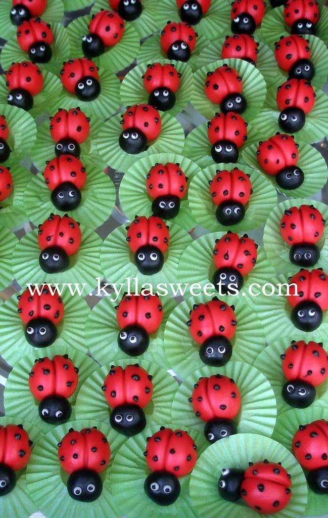 Ladybug Candy Treats Docinhos Joaninha Fernanda