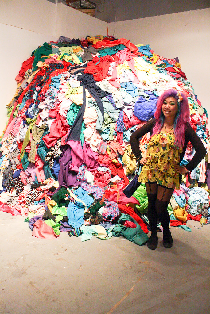 Pile of Clothes | Miami Art Basel 2010 Trip - Day 3 ...