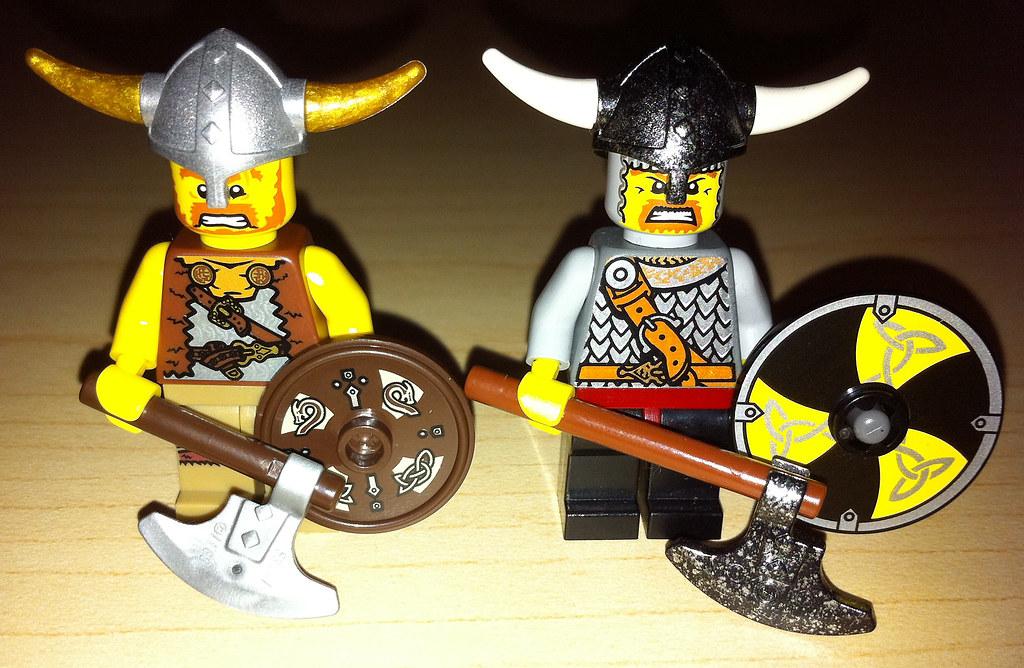 Lego Collectible Minifigures Series 4 Viking Vs Vikings