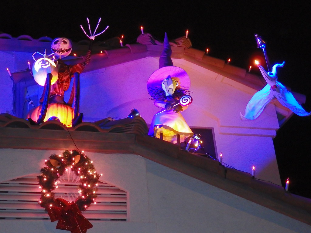 Oogie Boogie Nightmare Christmas
