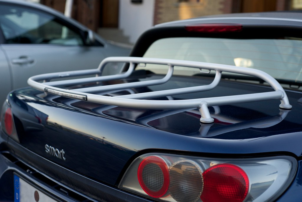 Smart Roadster Luggage Rack Mihai Ile Flickr