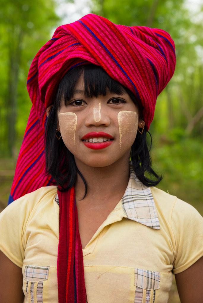 Shan Tribe Girl | Inle Lake, Burma (Myanmar). Burma is an ...