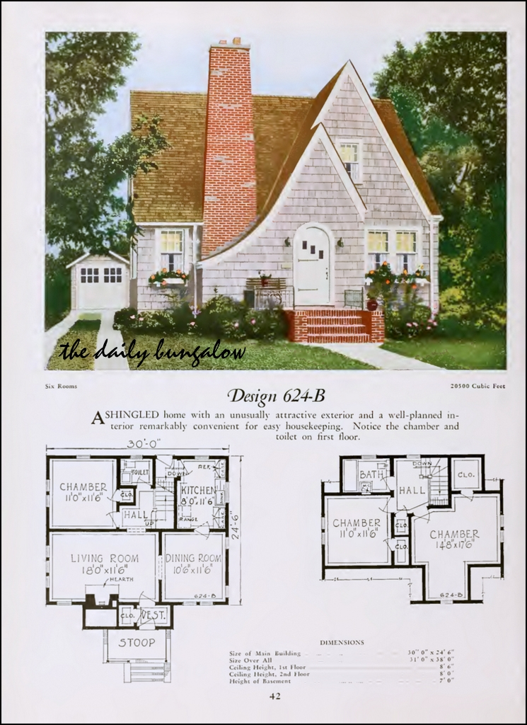 Plans Style 1930 Bungalow House