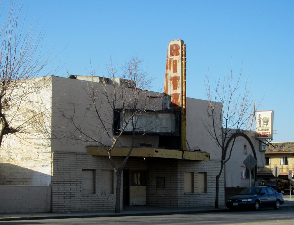 Ritz Theater Huron Ca 2234a Abandoned Movie Theater In The Flickr