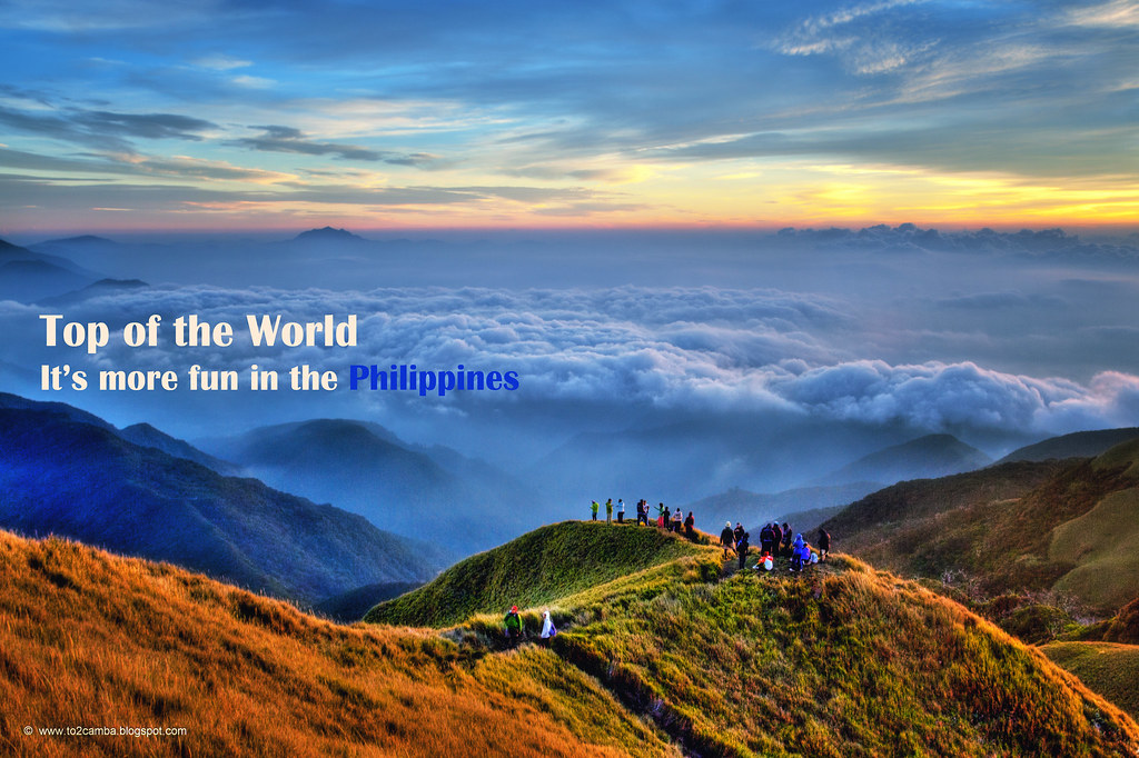Mt Pulag Philippines View On Black Mt Pulag Expedition