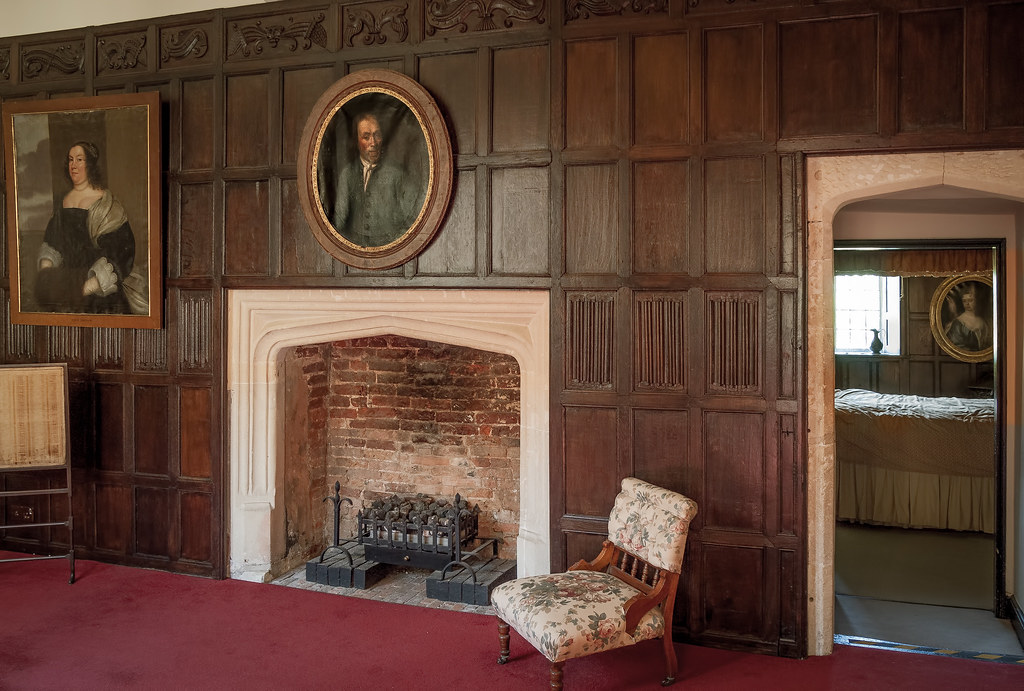 The Haunted Landing And Bedroom Of Elizabethan Littlecote