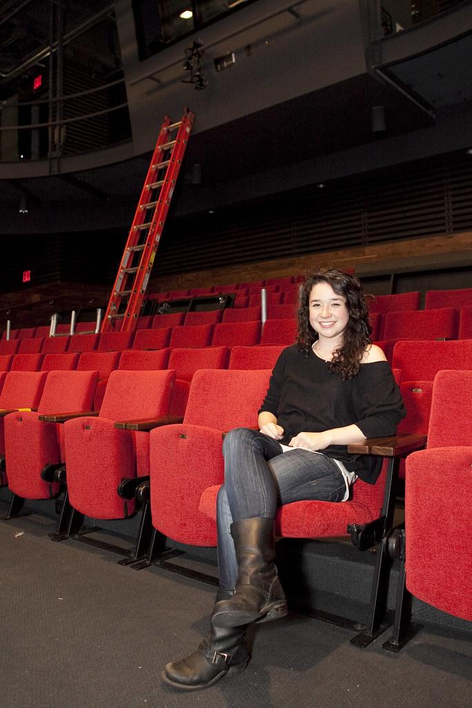 Sarah Steele Inside The Claire Tow Theater Sarah Steele W