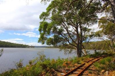 Tasmanian Bush Railway - Ida Bay   This Tasmanian Bush ...