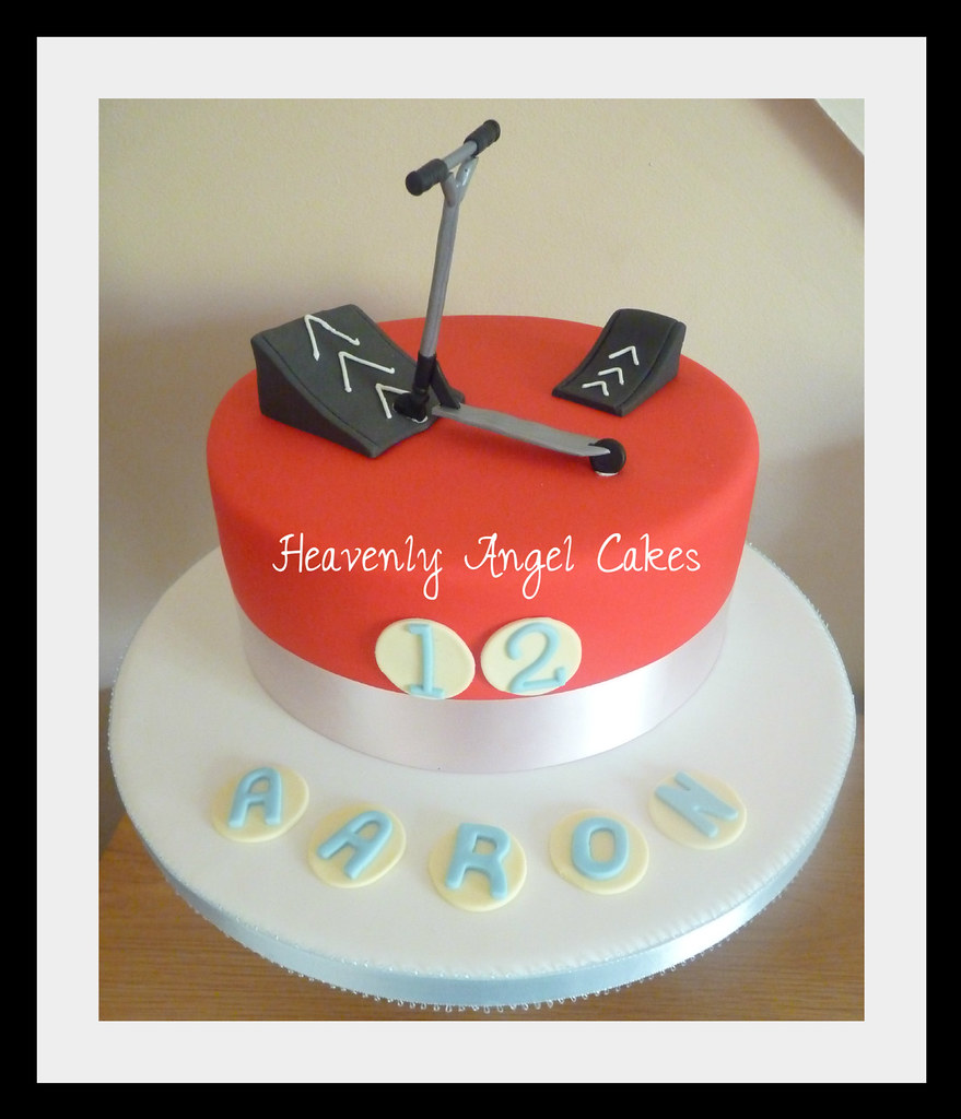 Stunt Scooter Cake Claire Jackson Flickr