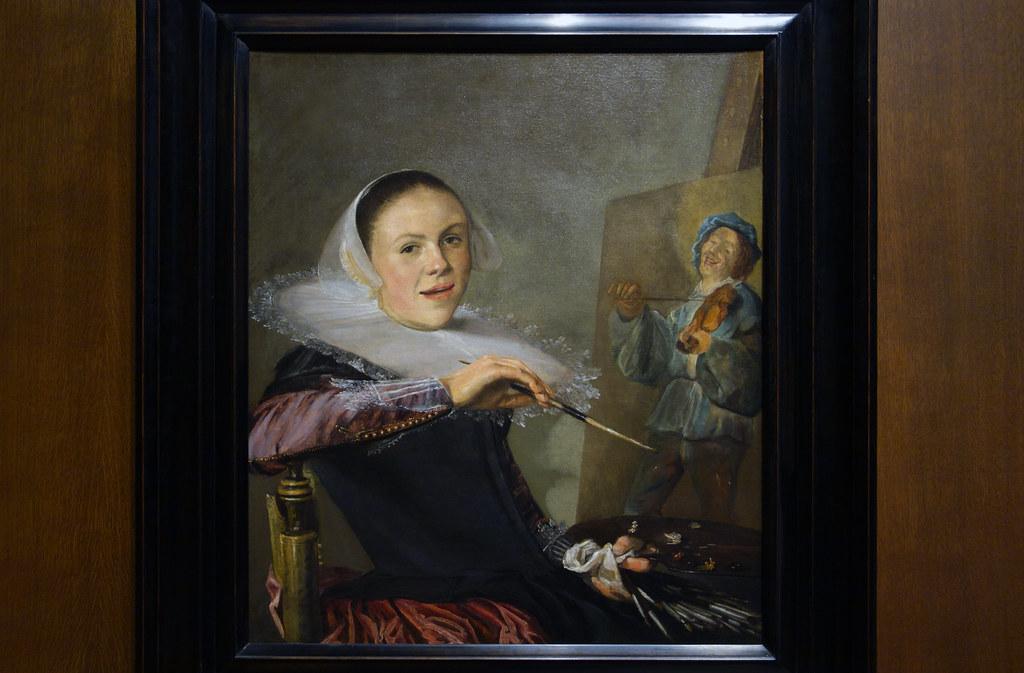 Judith Leyster Self Portrait C 1633 Judith Leyster