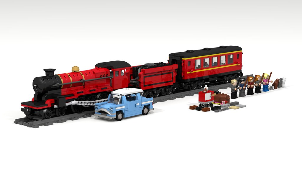 Lego Hogwarts Express (4841) redesign | That's what Lego ...