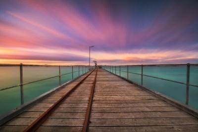 Vivonne Streaks   Vivonne Bay Jetty Kangaroo Island South ...
