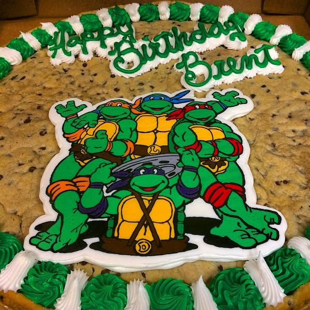 Brent Grimes Birthday Cake
