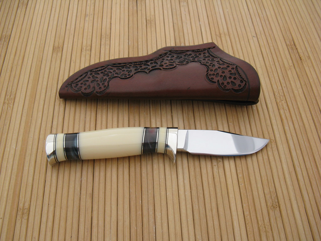 Faux Ivory Knife Handle Material