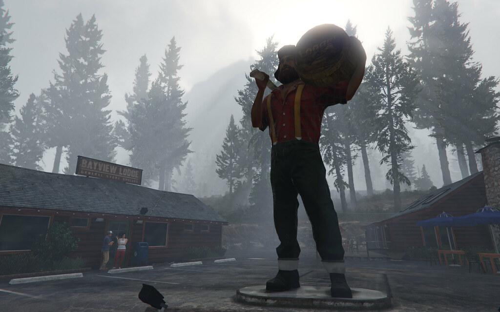 2015 04 20 004 Gta 5 Logger Beer Lumberjack Stands