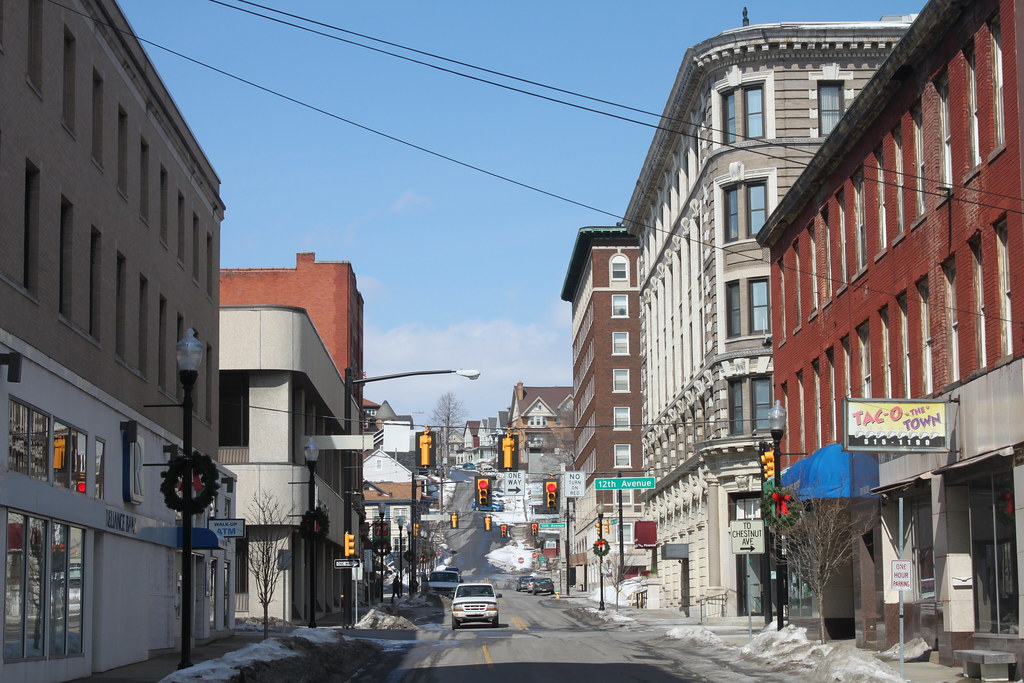Map Of Downtown Altoona Pa