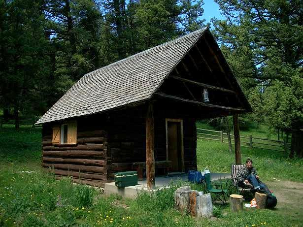 Indian Flats Cabin Indian Flats Cabin Is Nestled In A