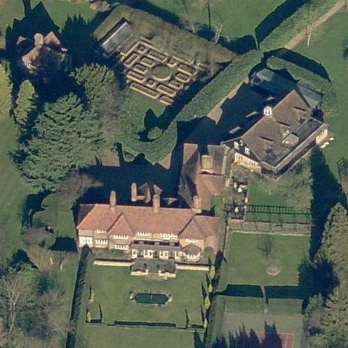 Roger Moore S House Former In Denham United Kingdom