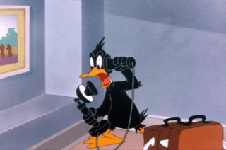 Looney Tunes Episode Draftee Daffy