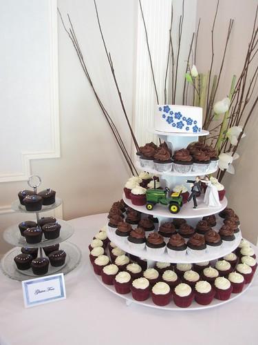 Purple And Silver Wedding Cupcakes 10 Dozen Red Velvet