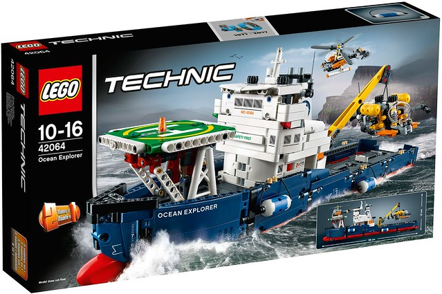 LEGO Technic sets for 2017 include science ship  monster truck  News     LEGO Technic 2017