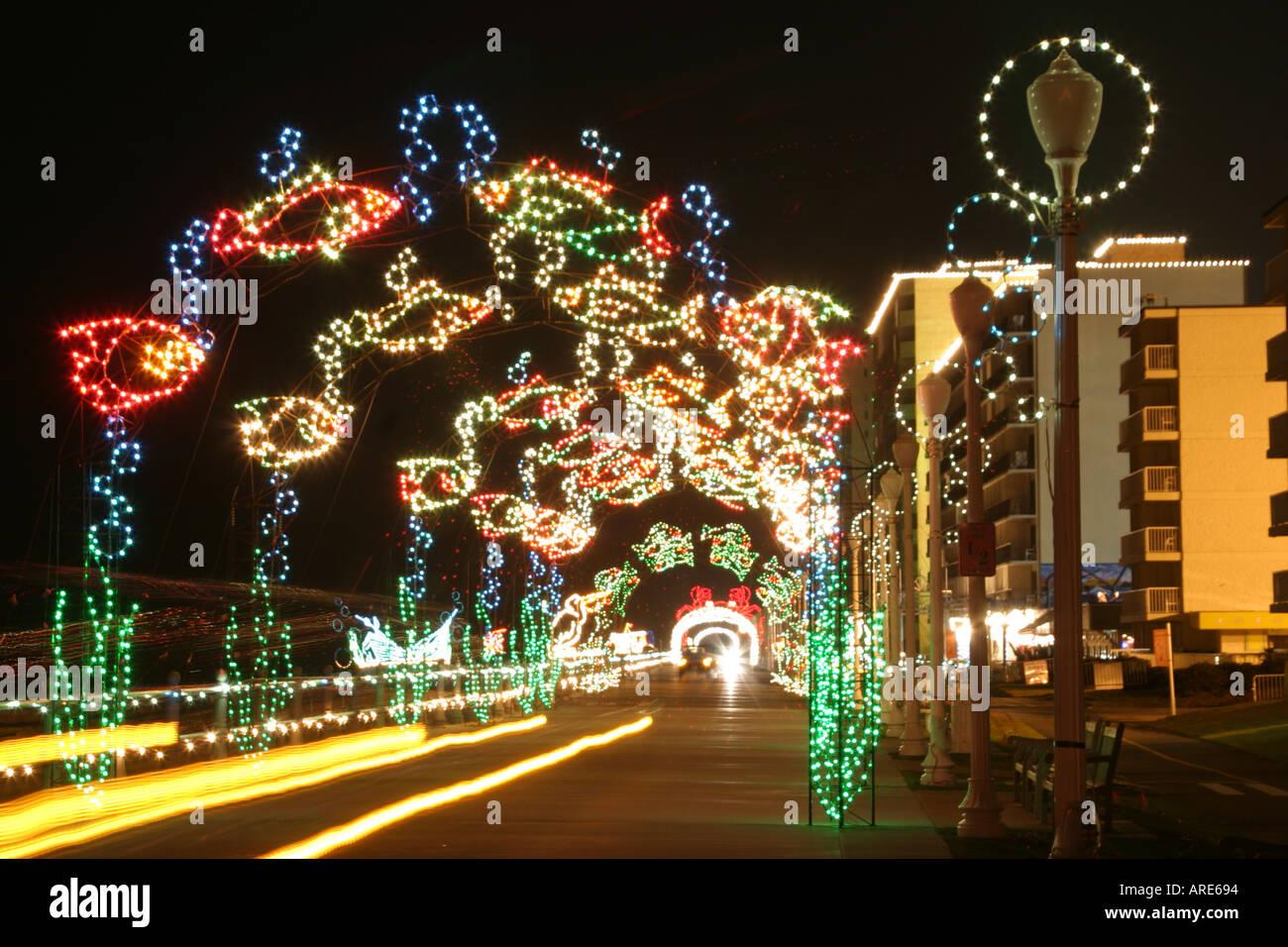 Christmas Lights Virginia Beach