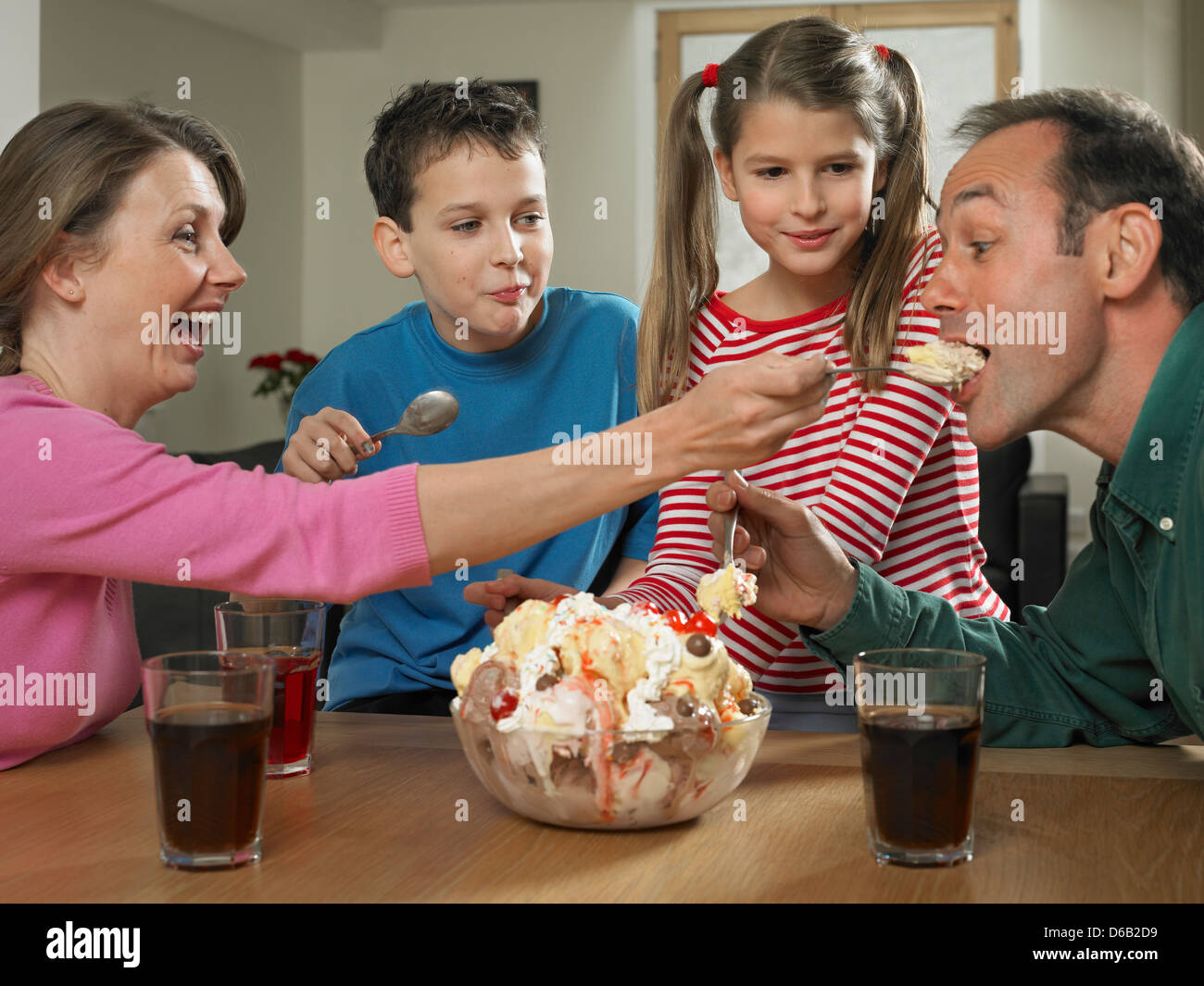 Family Ice Cream Stand