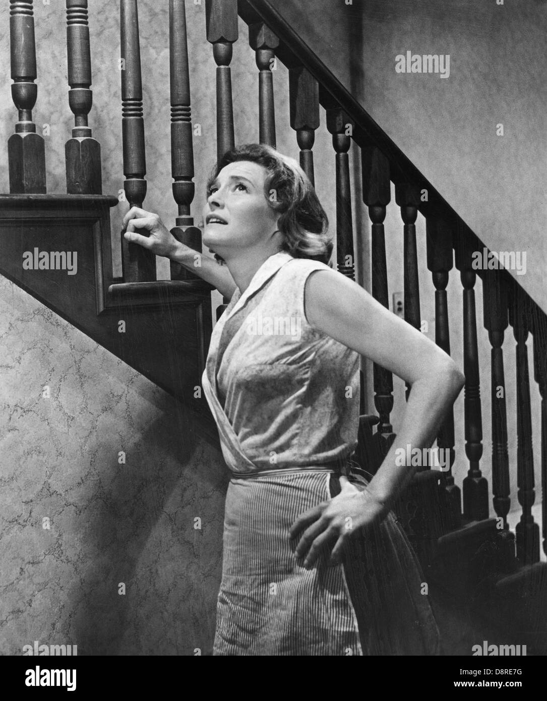 Patricia Neal on-set in the Film, HUD, 1962 Stock Photo ...
