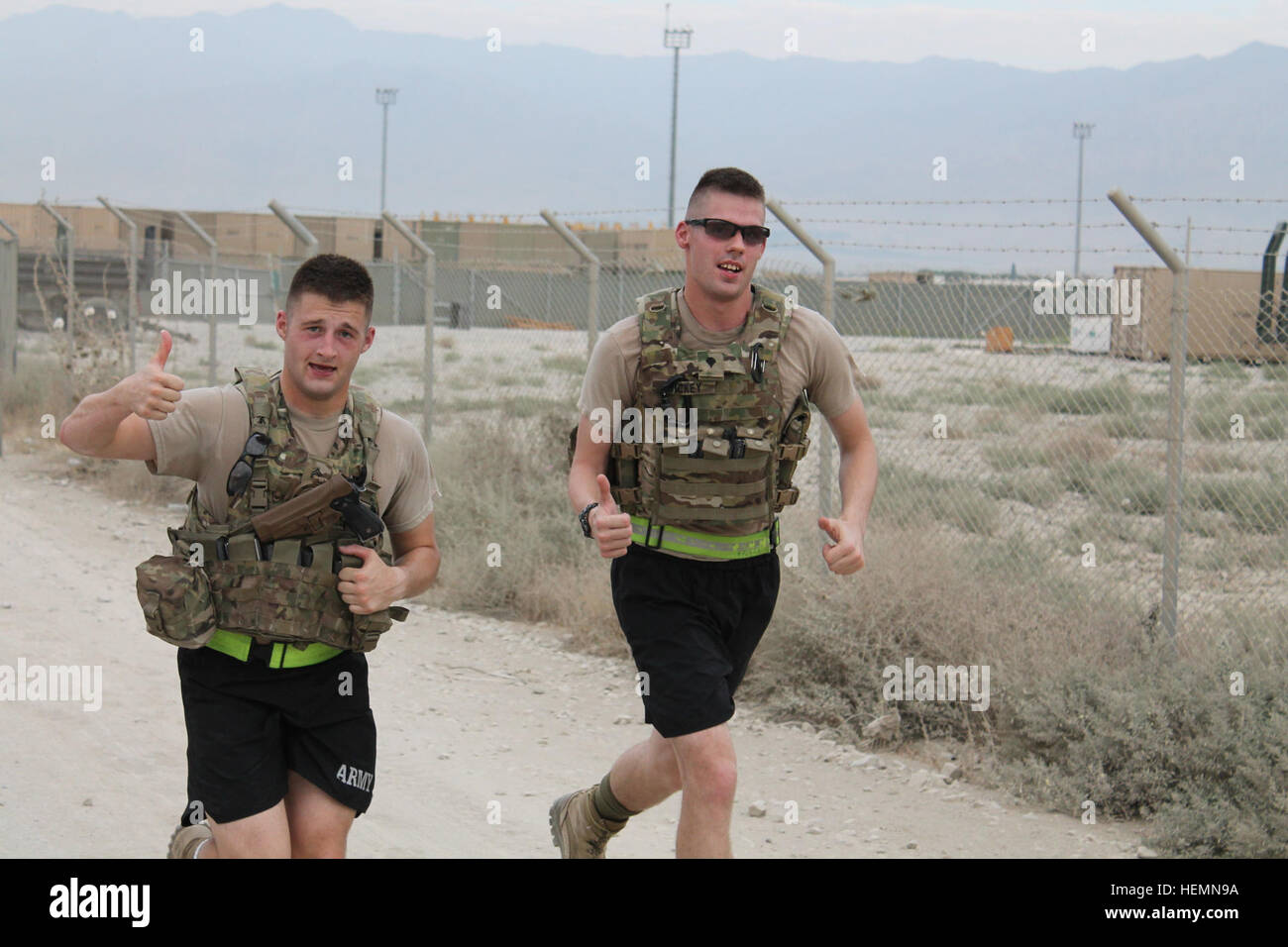 Running Air Kandahar Base