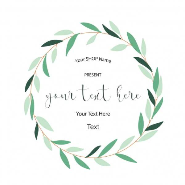 wreath template free # 2