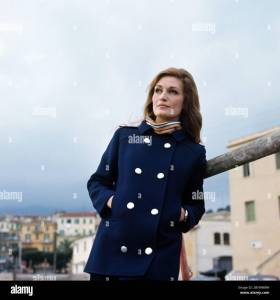Dalida In January 1967 In San Remo In Italy Stock Photo - Alamy