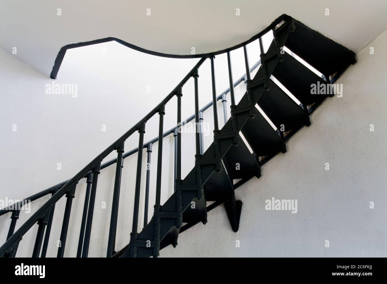 Spiral Stairs Point Vincente Lighthouse Palos Verdes Peninsula | Spiral Staircase Los Angeles | Loft | Handrail | 42 Inch | Romantic | Double Spiral