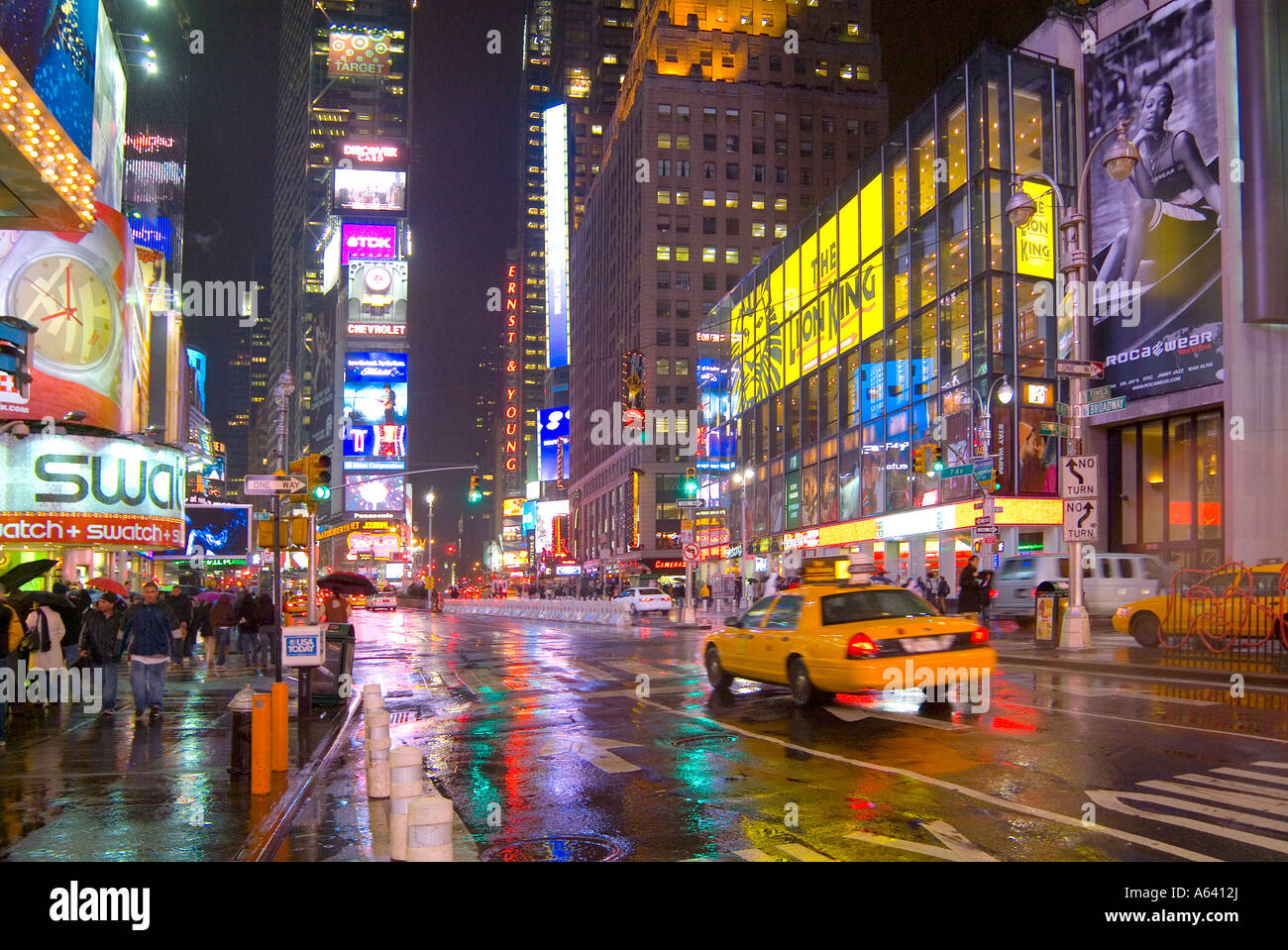 Nyc Times Square Night