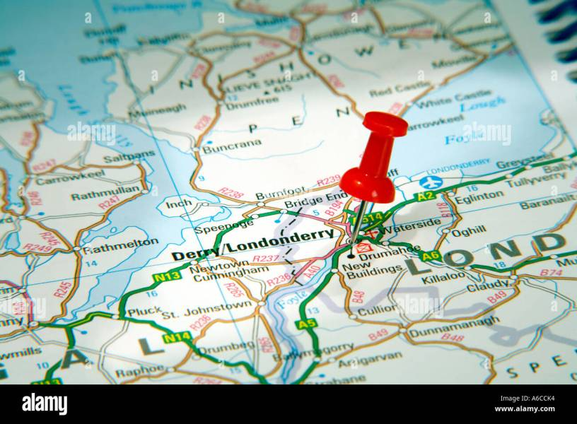 map derry city » Images Wallpaper | Full Wallpapers