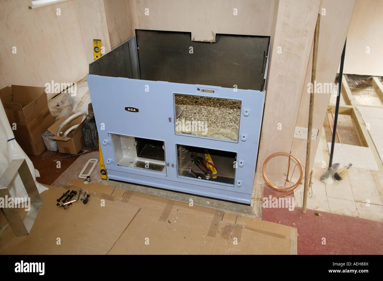 Aga Cooker Stock Photos & Aga Cooker Stock Images - Alamy