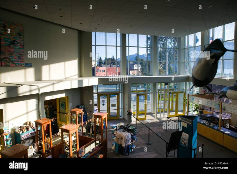 USA  ALASKA  KENAI PENINSULA  SEWARD  Alaska SeaLife Center  Lobby     USA  ALASKA  KENAI PENINSULA  SEWARD  Alaska SeaLife Center  Lobby Interior