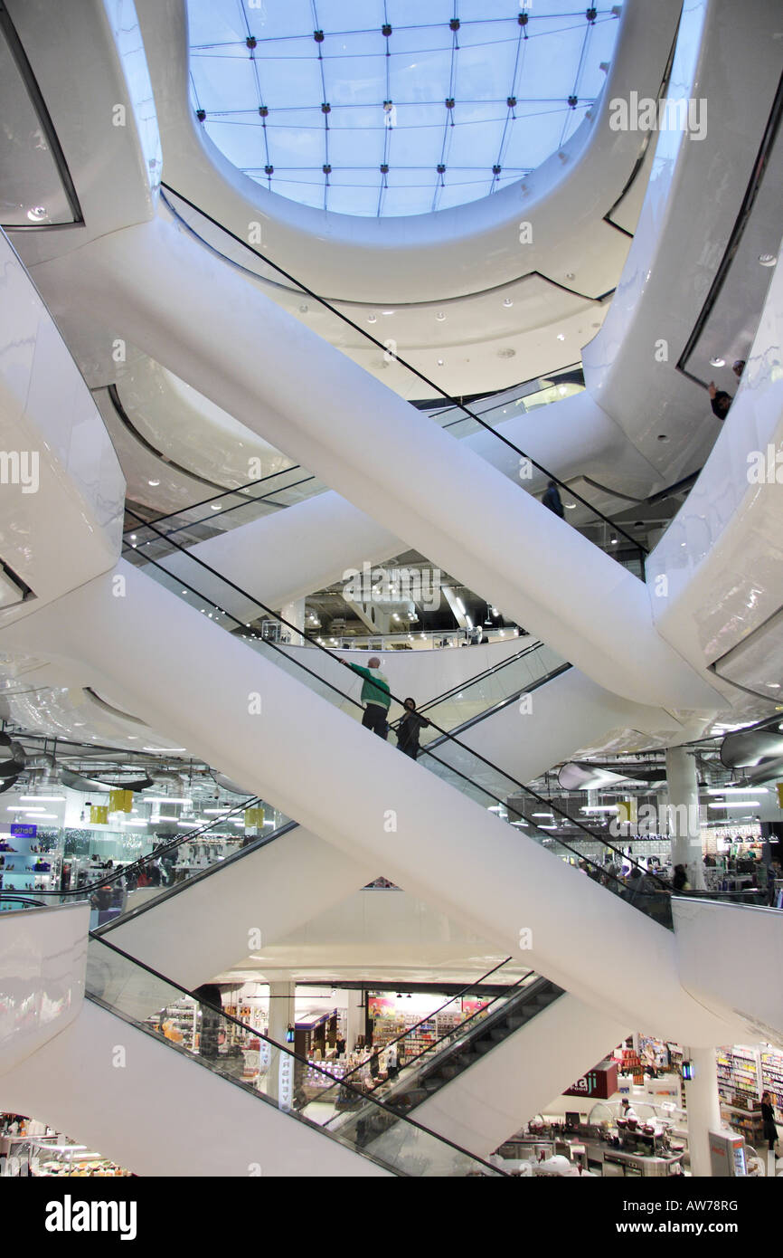 Interior of Selfridges Birmingham Stock Photo  16488915   Alamy Interior of Selfridges Birmingham