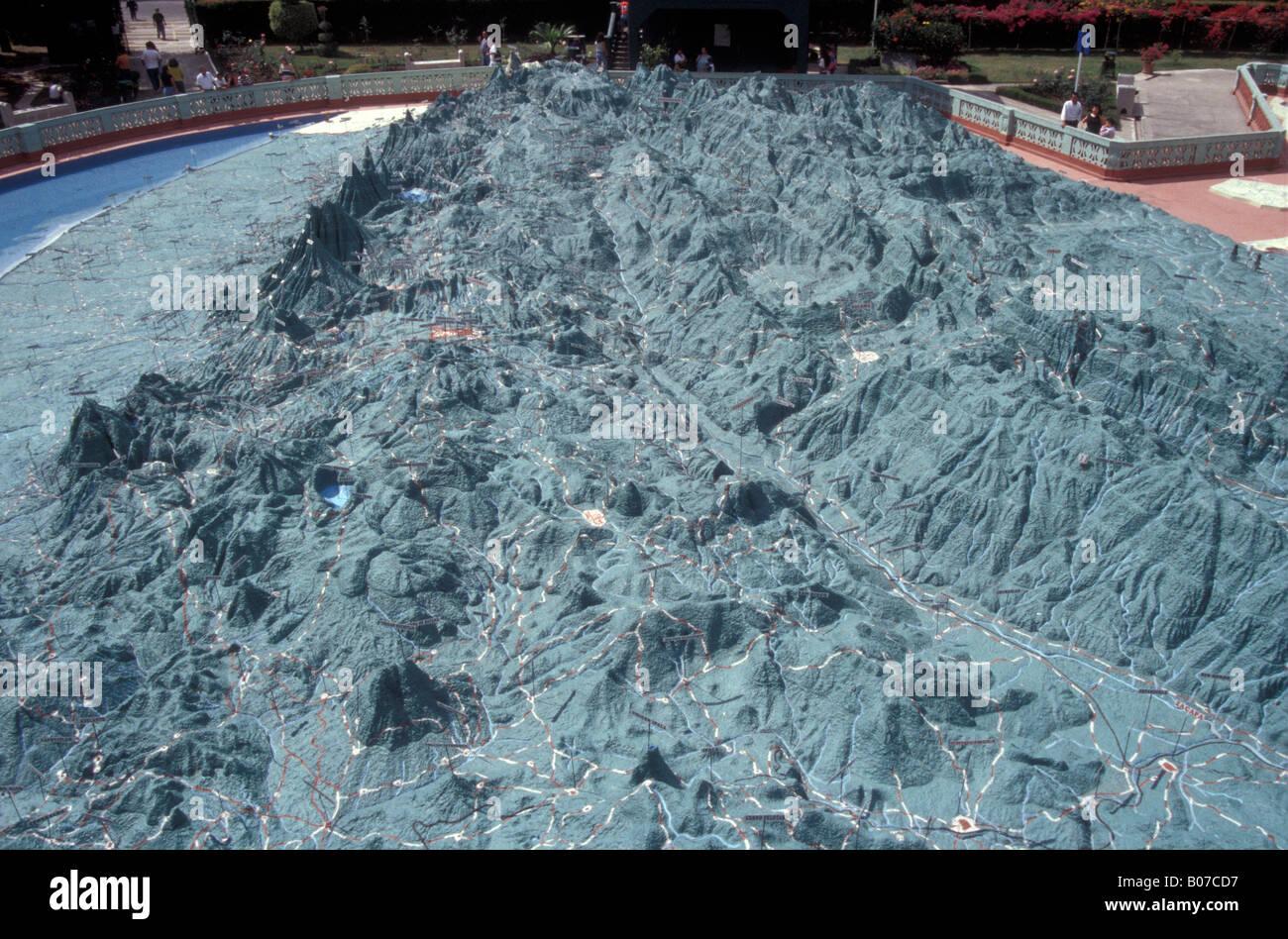Guatemala satellite photo Travel Songs Map