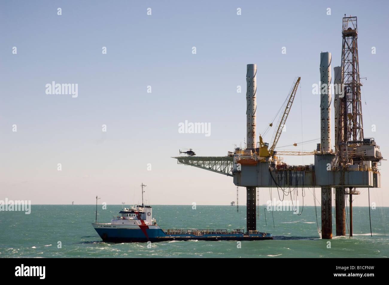 Sonata Oil Rig Gulf Mexico