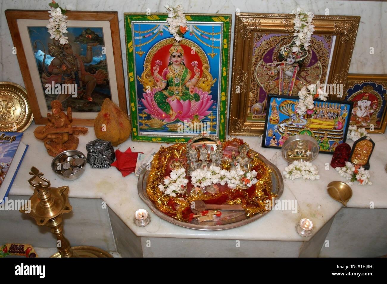 Best Kitchen Gallery: Home Shrine Offerings Stock Photos Home Shrine Offerings Stock of Hindu Altar At Home on rachelxblog.com