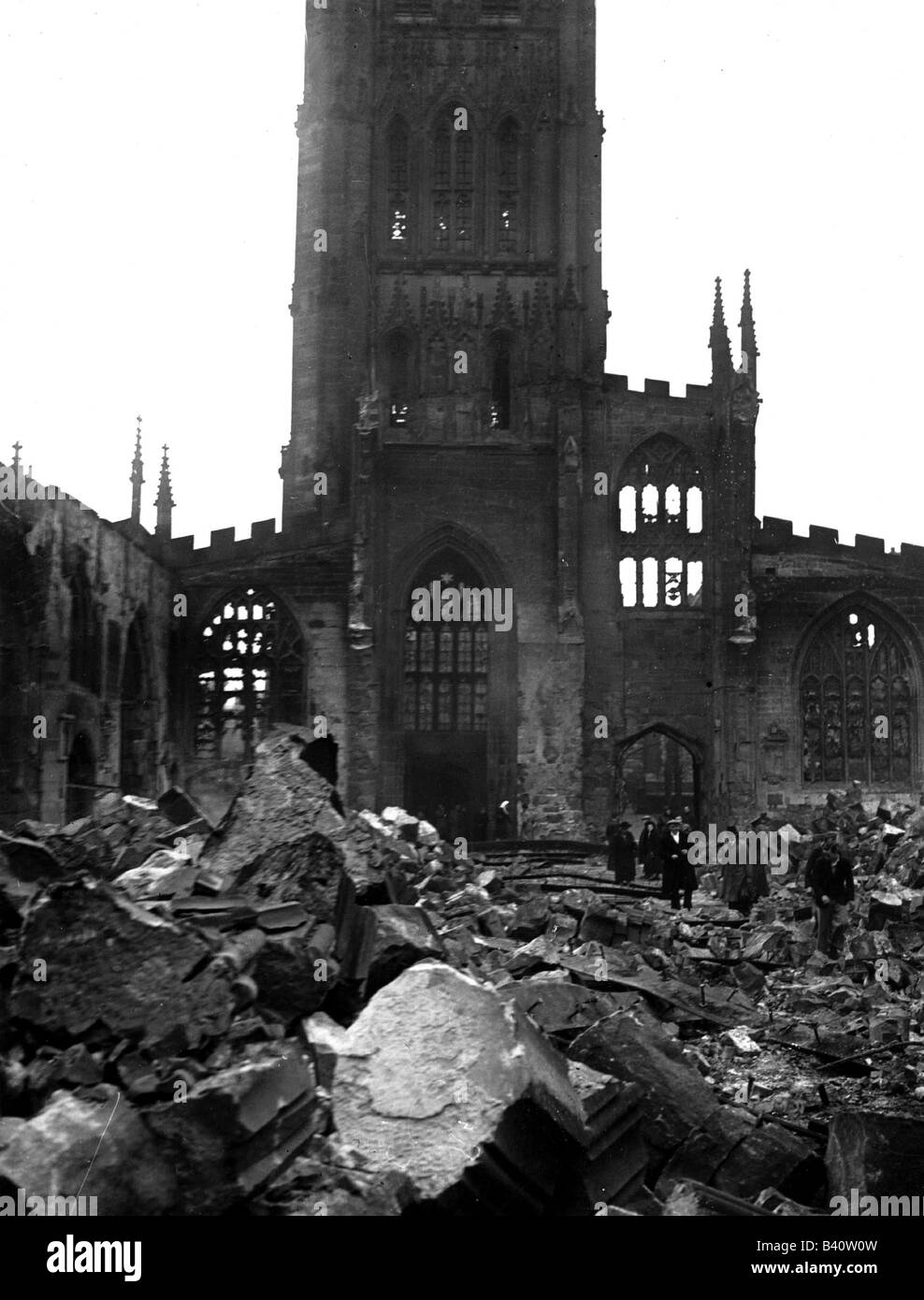 Coventry Cathedral England After Wwi