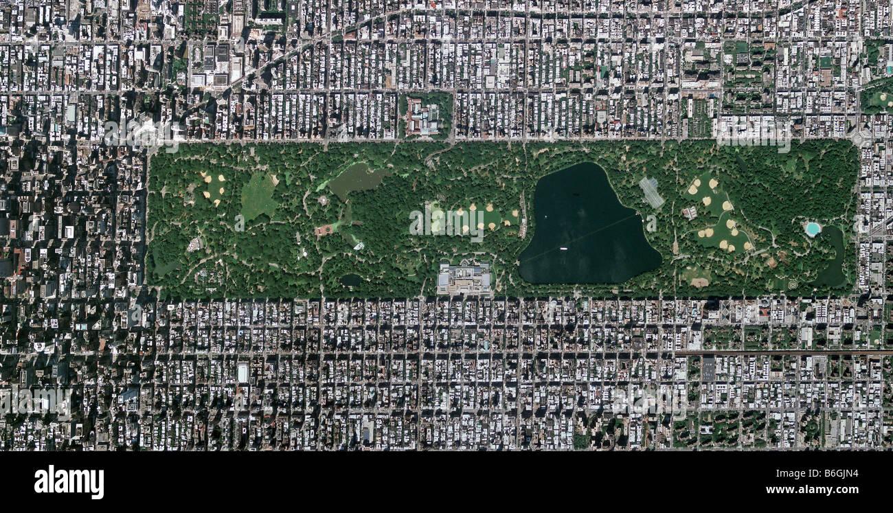 New Central Satellite York Map Park