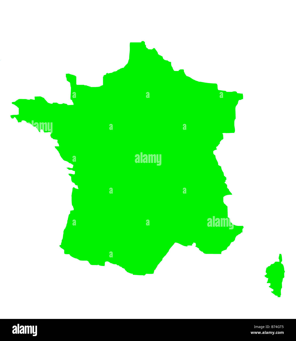 France Map Background