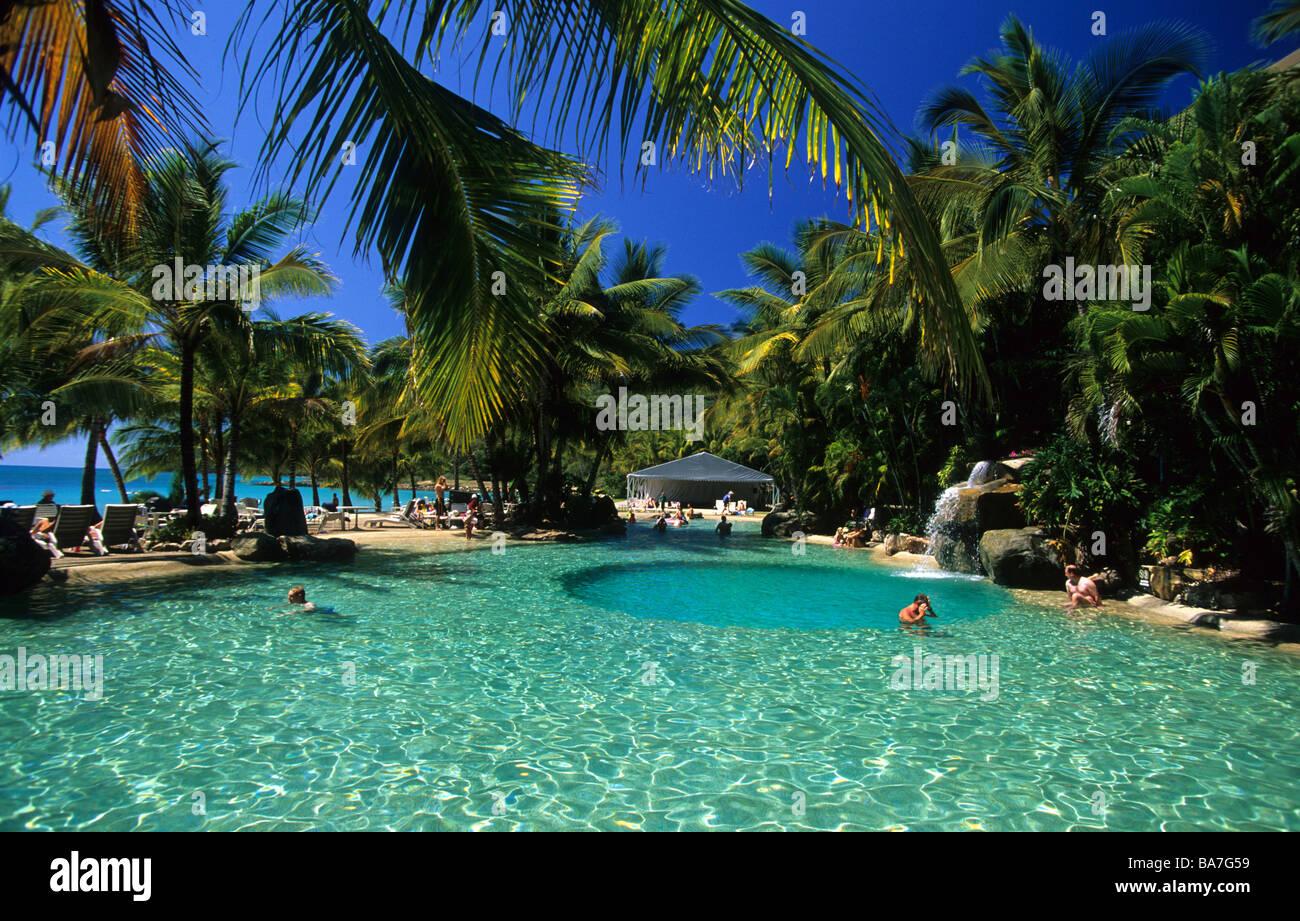 Resort Pool On Hamilton Island Whitsunday Islands Great