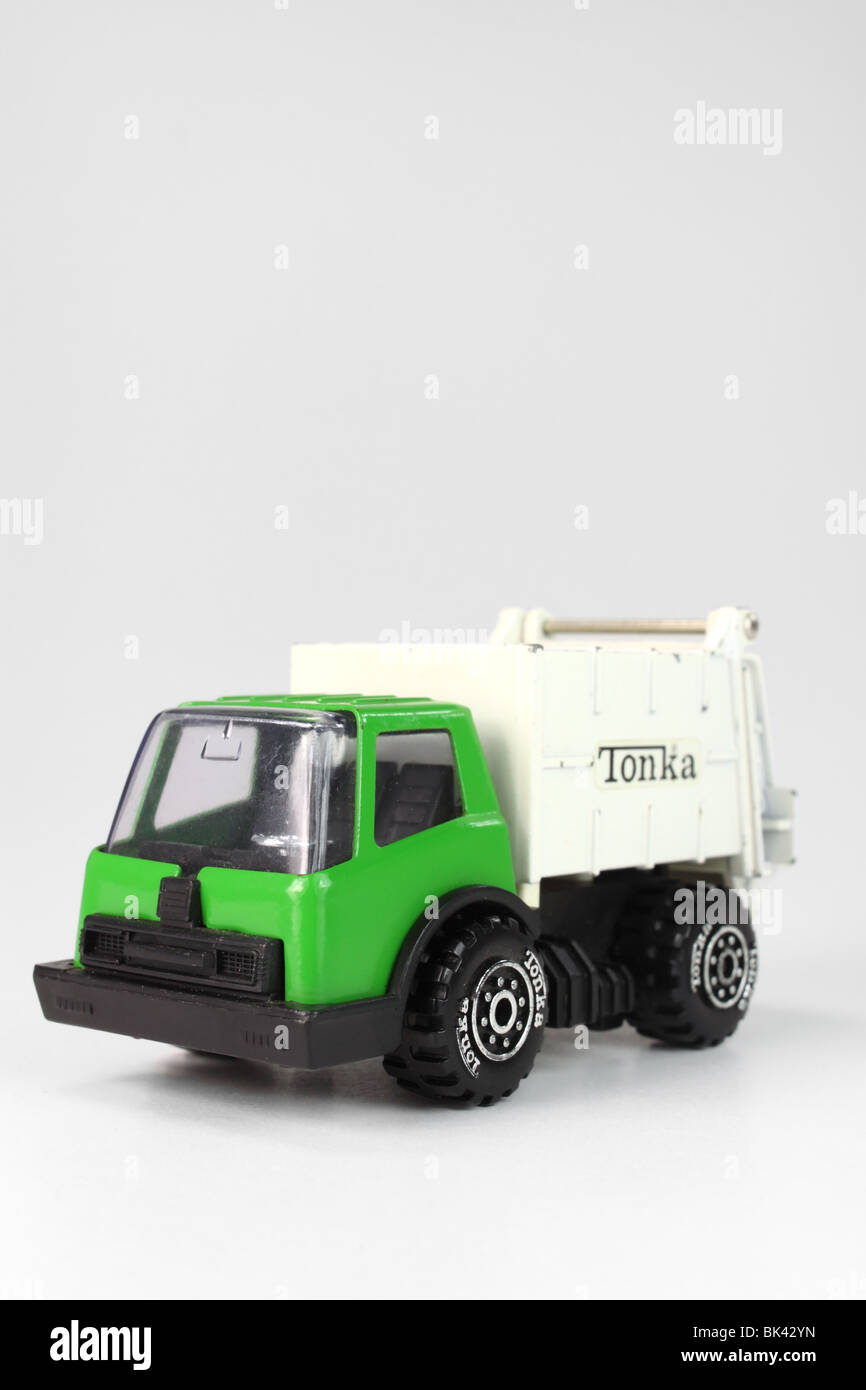 Tonka Toy Garbage Truck Man