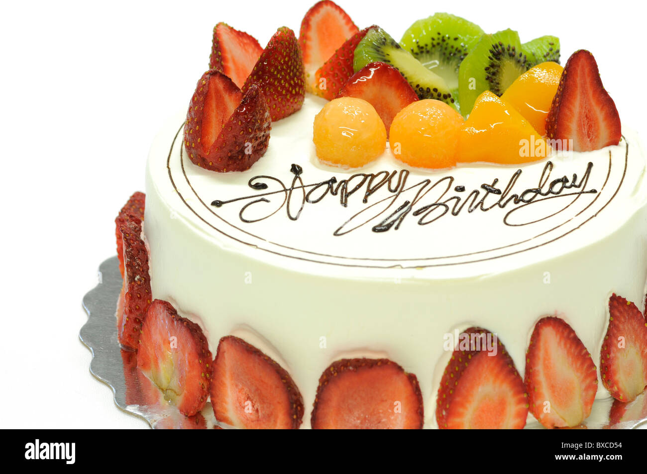Tasty Strawberry Cake
